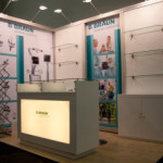 Budget Exhibits stands at SAAS medical congress