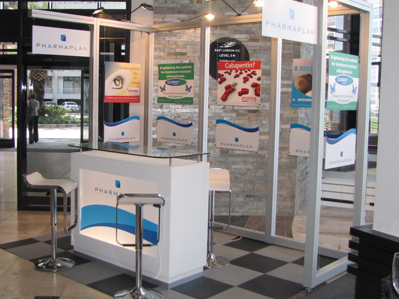 Exhibition Stand Builders London : Pharmaplan nasa east london icc octanorm exhibition