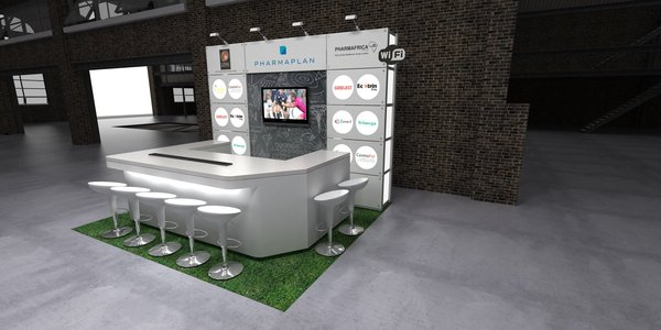 Exhibition Stand Flooring : Exhibition and trade show design ideas