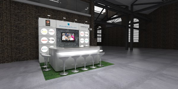 Small Exhibition Stand Game : Exhibition and trade show design ideas