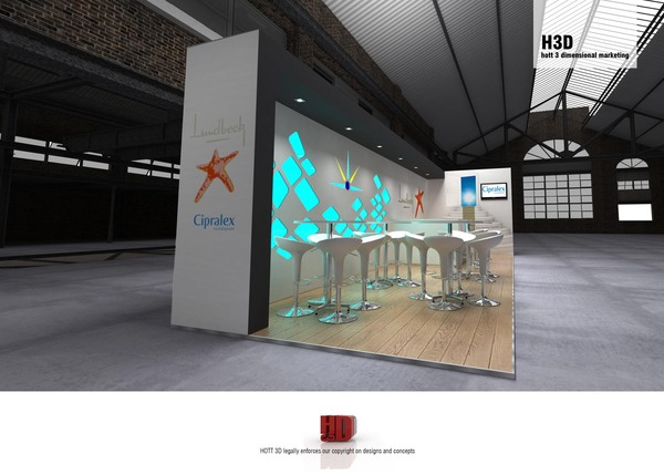 Lundbeck - expo stand design south africa 1