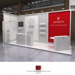 Exhibition Design – Optiphi and Leenyx @ World Congress of Aesthetic Medicine