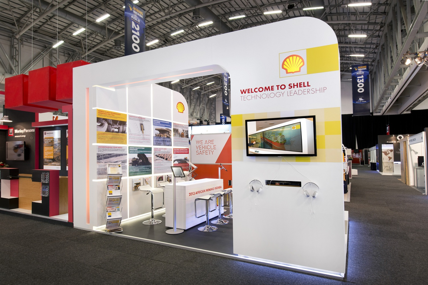 Shell Exhibition Kirkcaldy : Mining indaba hott d exhibition stands for clients shell