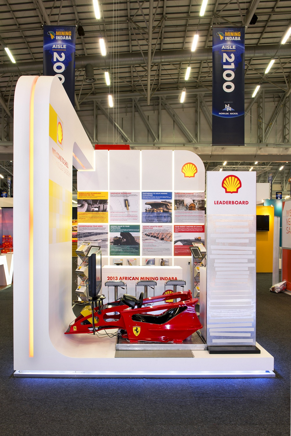 Best Small Exhibition Stands : Mining indaba hott d exhibition stands for clients shell