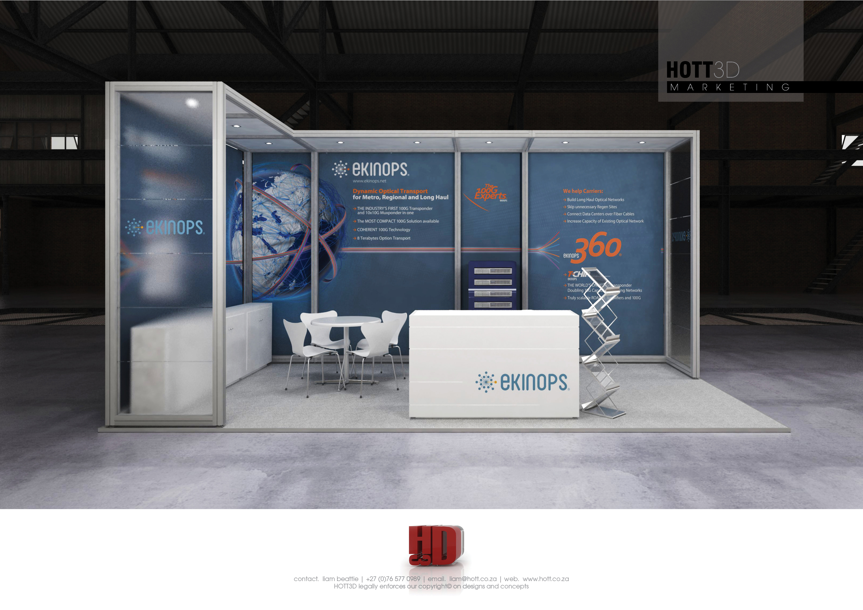 Exhibition Stand Builders Cape Town : Ekinops africacom hott d octanorm maxima