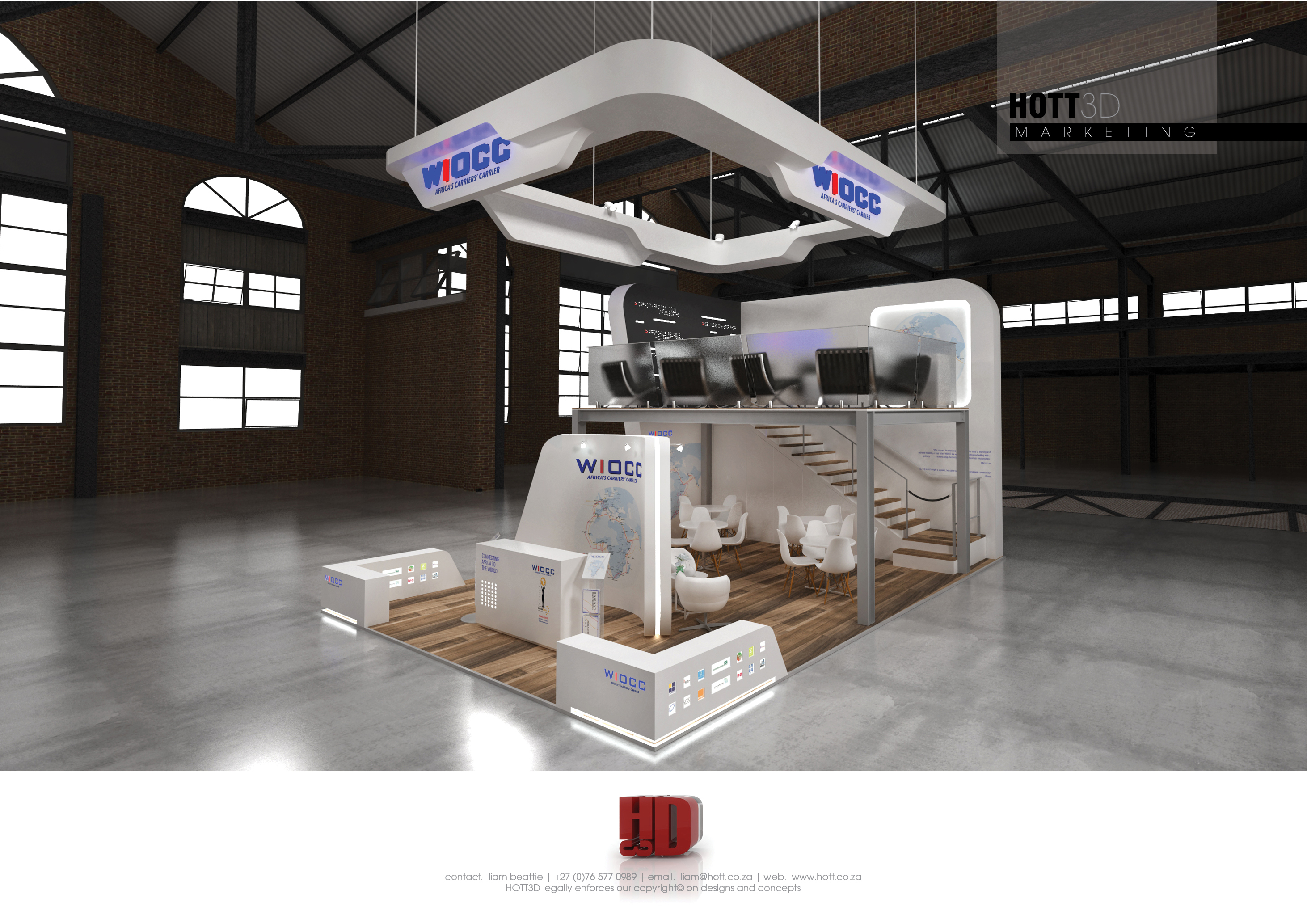 Exhibition Stand Rental Cape Town : Wiocc africacom full custom hott d exhibition