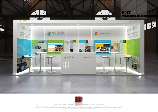 HOTT3D Exhibition Stand Design 2014