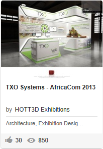 TXO - Exhibition stands