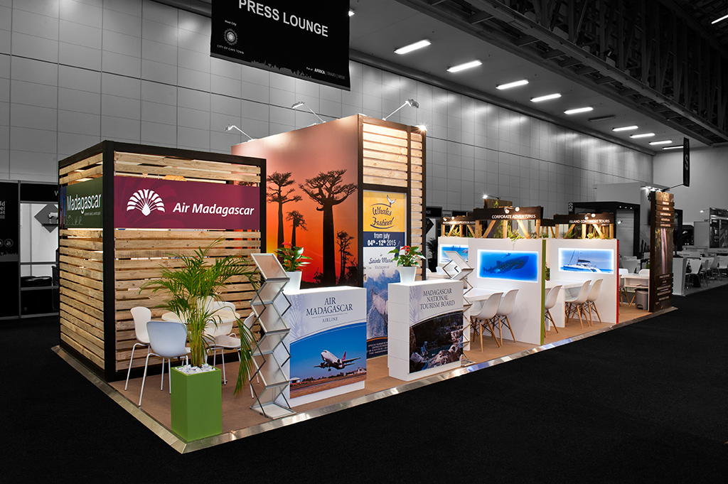 Exhibition Stand Builders South Africa : Hott d is an official supplier to the wtm africa