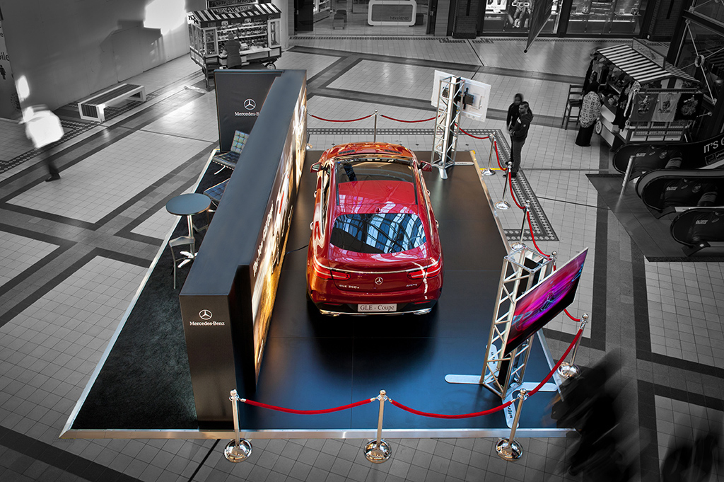 Exhibition Stand Design Cape Town : Mercedes gle coupe v a waterfront in cape town hott d