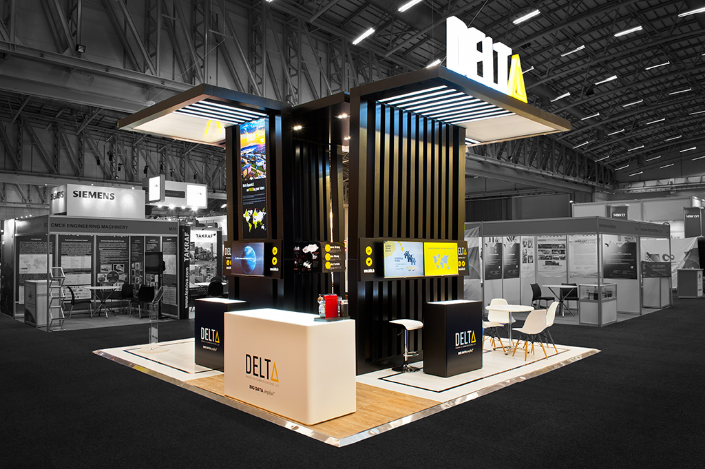 Exhibition Stall Zone : Powergen africa hott d the exhibition stand