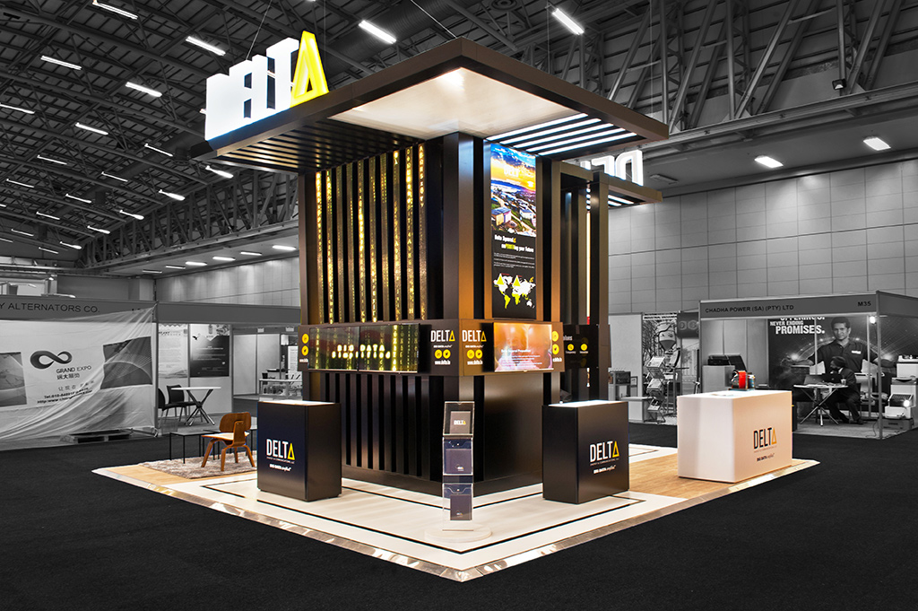 Exhibition Stand Builders South Africa : Powergen africa hott d the exhibition stand