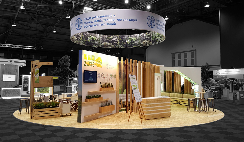 Exhibition Stand Sketchup : Fao pavilion th world forestry congress hott d