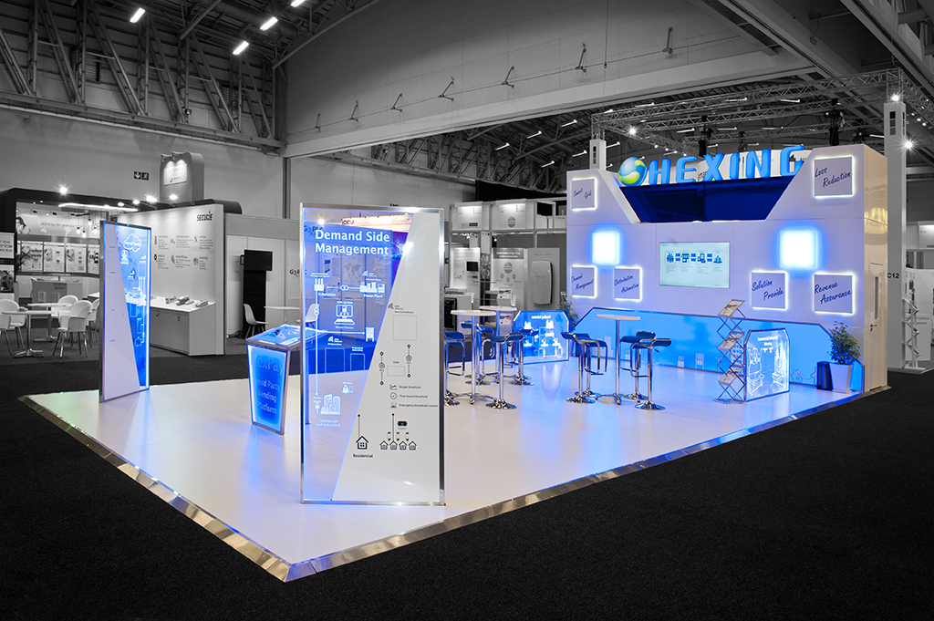 Asiatic Expo Exhibition Stand Design Build : Hexing african utility week hott d