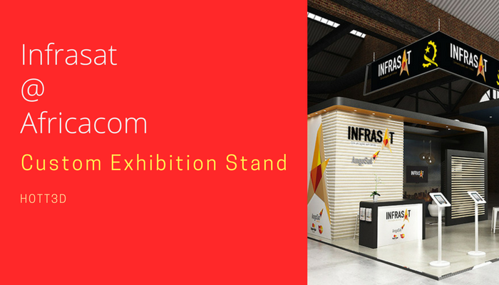 Custom Exhibition Stand Years : Custom exhibition stand hott d for infrasat