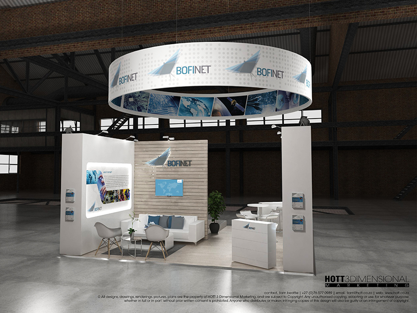 Modular Exhibition Stands Out : Bofinet africacom modular exhibition stand