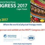 WCPT Congress 2017 South Africa – Exhibitor Information