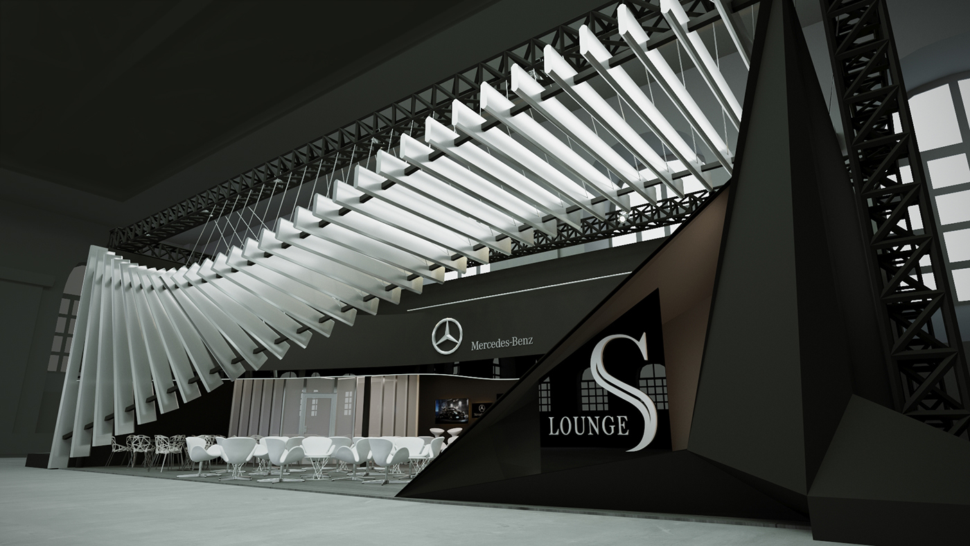 Mercedes-Expo-stand-design