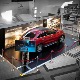 Mercedes GLE Coupe – V&A Waterfront 2015