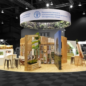 FAO Pavilion – World Forestry Congress 2015