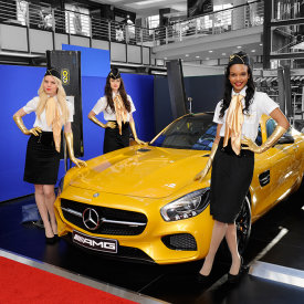 Mercedes AMG GTS GT – V&A Waterfront 2015